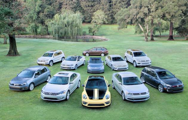 2014 VW 2014 lineup