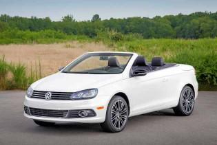 2014 VW Eos top down