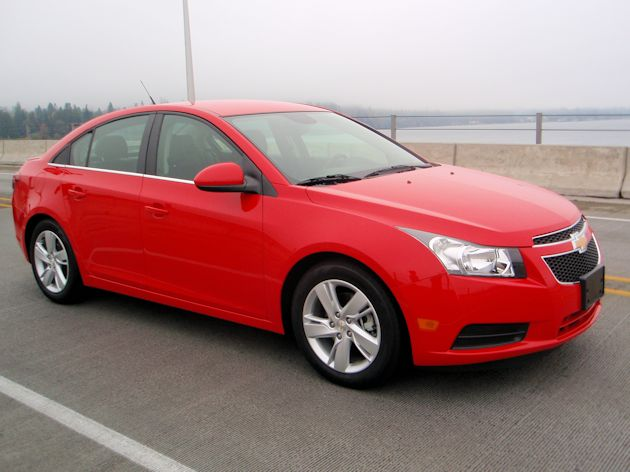 2013 Chey Cruze front