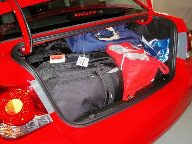 2013 Chey Cruze trunk full