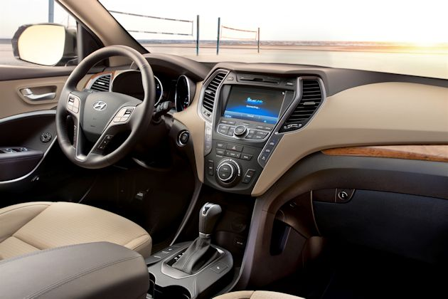 2013 Hyundai Santa Fe dash
