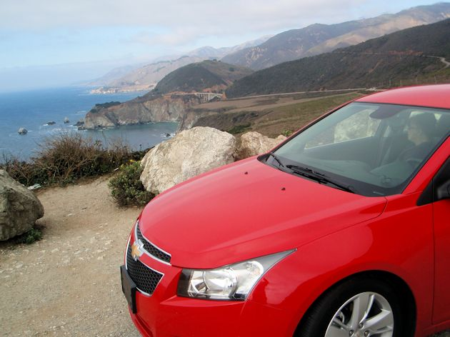 2014  Chevrolet Cruz - coast