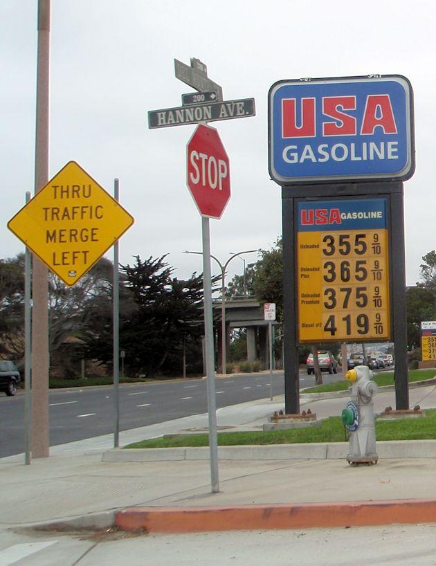 2014  Chevrolet Cruz - fuel price