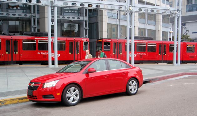 2014 Chevrolet Cruze TTrolley&CD
