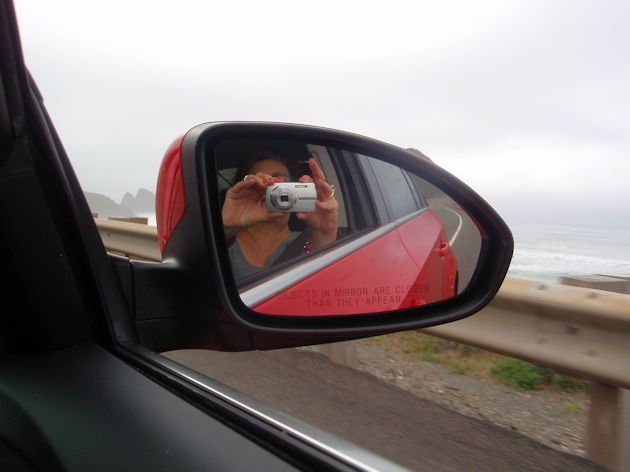 2014 Chevy Cruise mirror