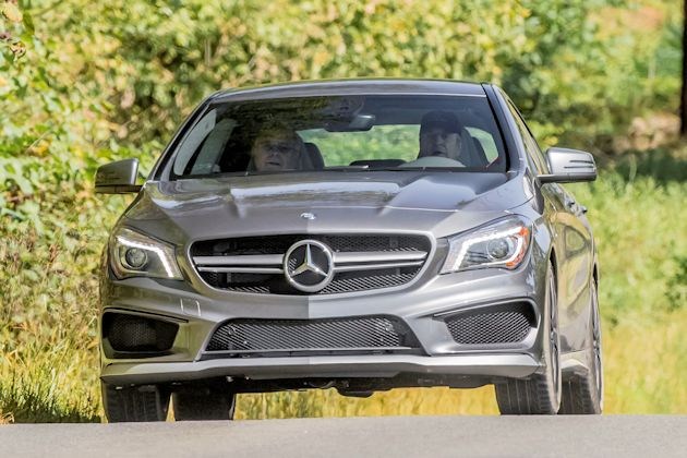 2014 Mercedes CLA front