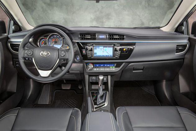 2014 Toyota Corolla dash