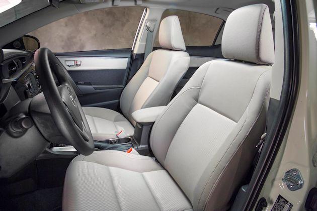 204 Toyota Corolla seats