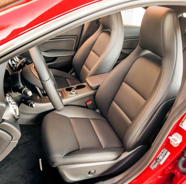 2593 Mercedes seat