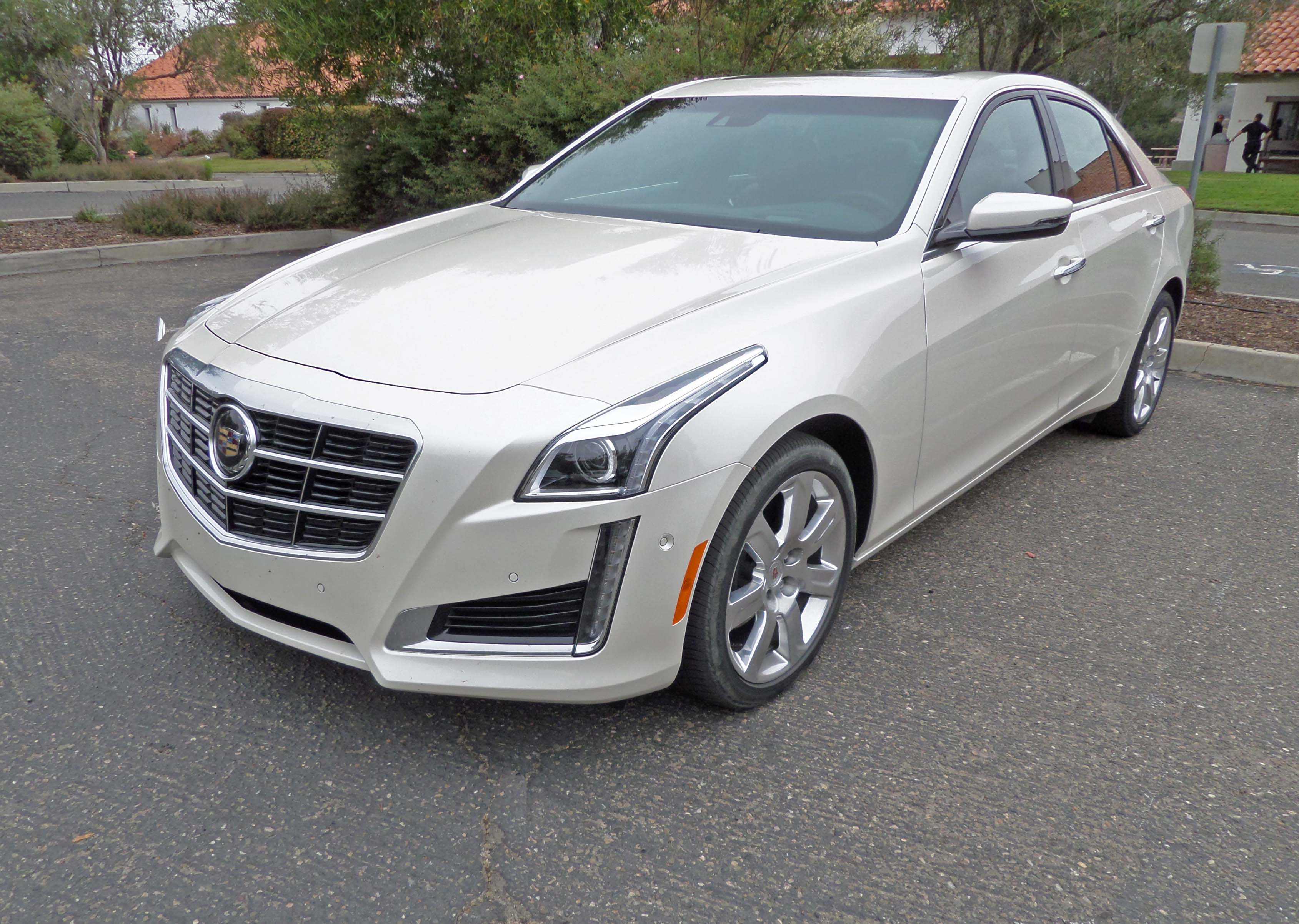 2014 cadillac cts vsport sedan test drive our auto expert