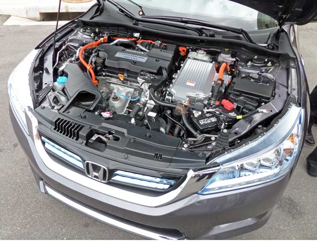 Honda Accord Hybrid Eng