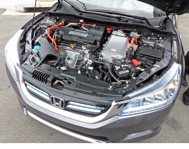 Honda Accord Hybrid Eng