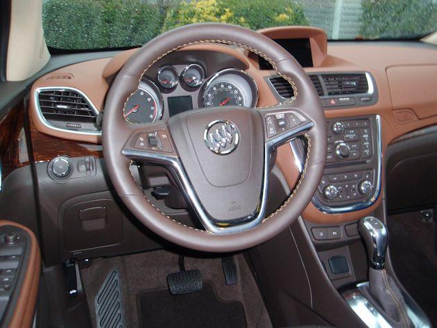 2013 Buick Encore dash