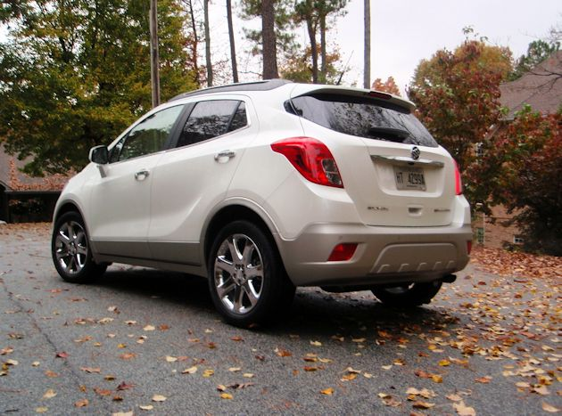 2013 Buick Encore rearQ
