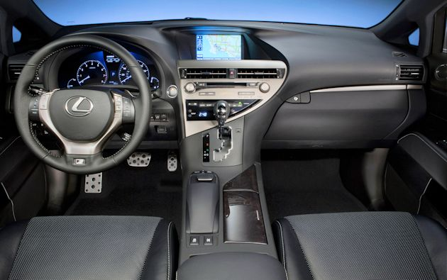 2013 Lexus RX FDash