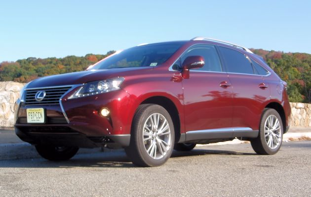 Lexus RX 350 Test Drive