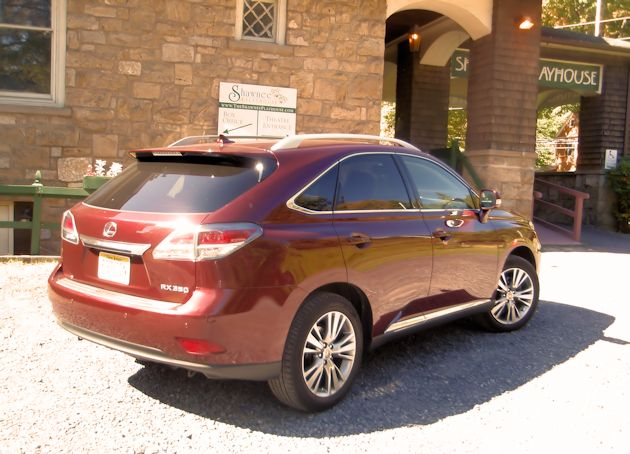 2013 Lexus RX rearP