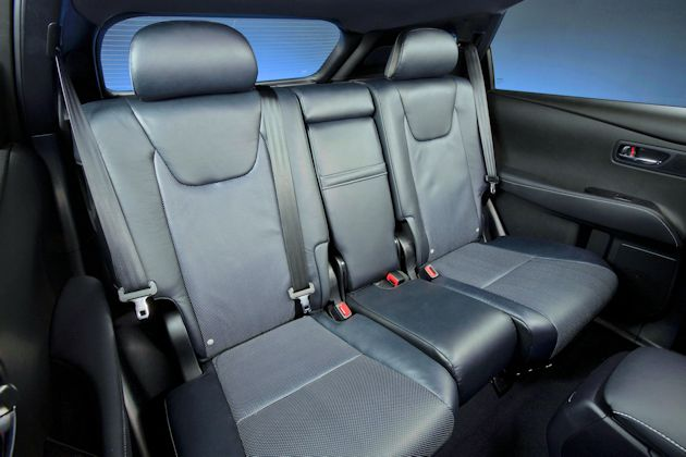 2013 Lexus RX rearSeat