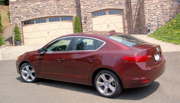 2014 Acura ILX side