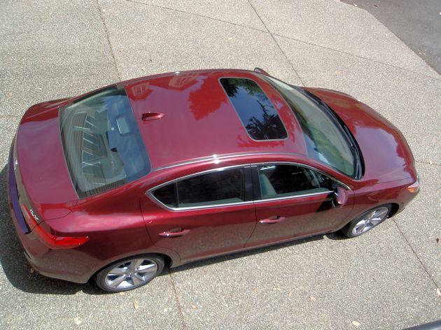 2014 Acura ILX top