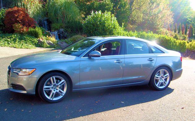 2014 Audi A6 Dside