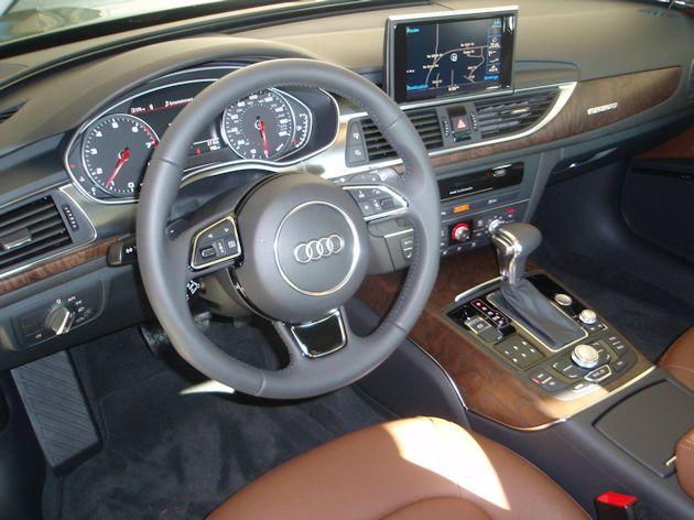2014 Audi A6 dash