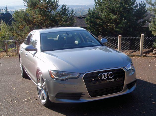2014 Audi A6 front