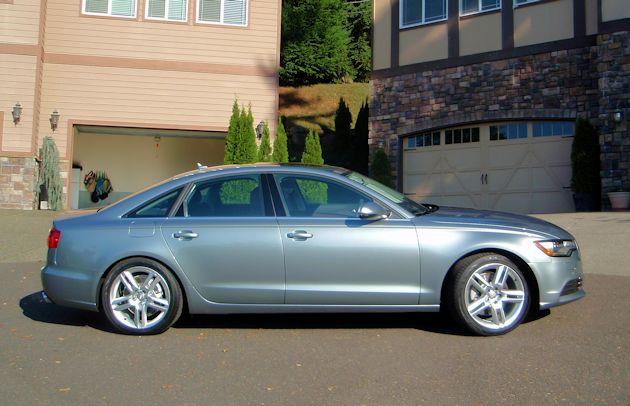 2014 Audi A6 side