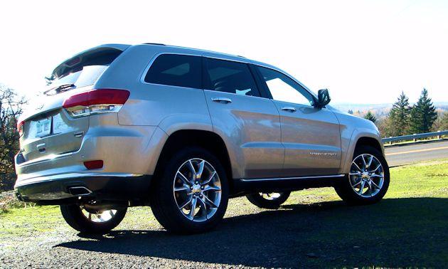 2014 Jeep Grand Cherokee rearQ
