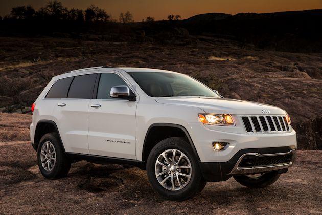 2014 Jeep Grand Cherokee rock