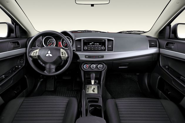 2014 Mitsubishi Lancer dash