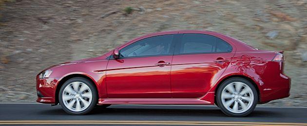 2014 Mitsubishi Lancer side
