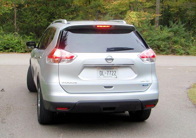 2014 Nissan Rogue rear