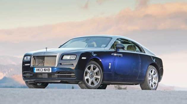 2014 Rolls-Royce Wraith Test Drive