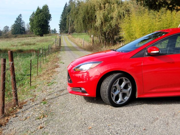Ford Focus ST Test Drive