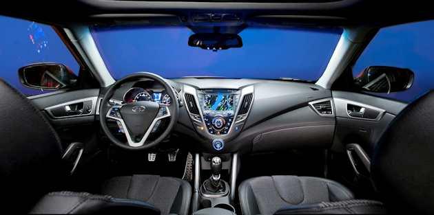 2014 Hyundai VelosterTurbo dash