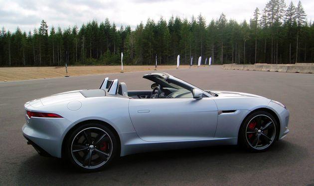 2014 Jaguar F-Type PSide