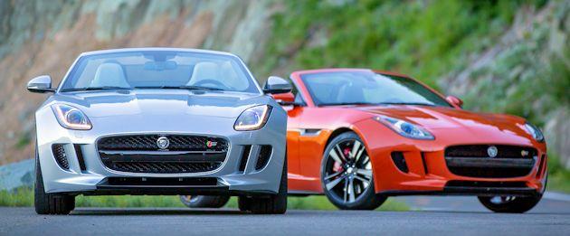 2014 Jaguar F-Type frontS