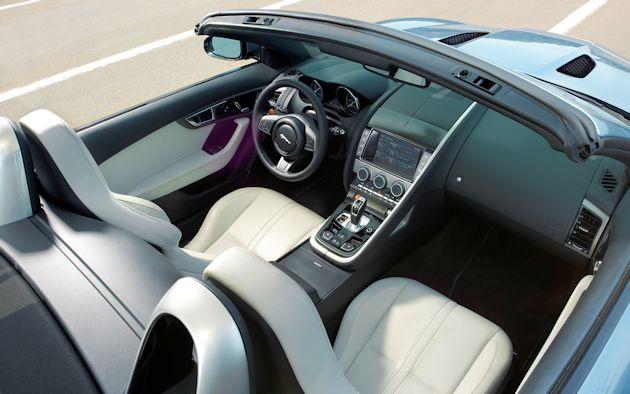 2014 Jaguar F-Type interior