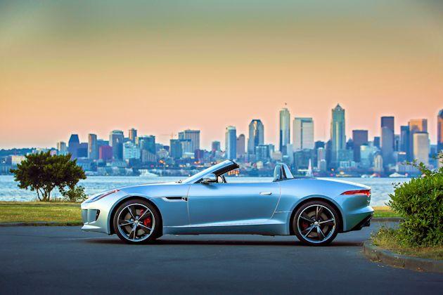 2014 Jaguar F-Type side