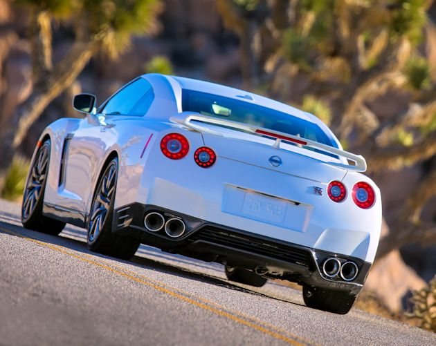 2014 Nissan GT-R rear