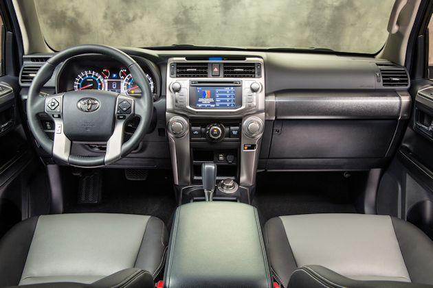 2014 Toyota 4Runner dash