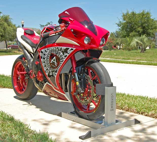Condor PitStop 8211 TrailerStop Motorcycle Product Reviewnbsp