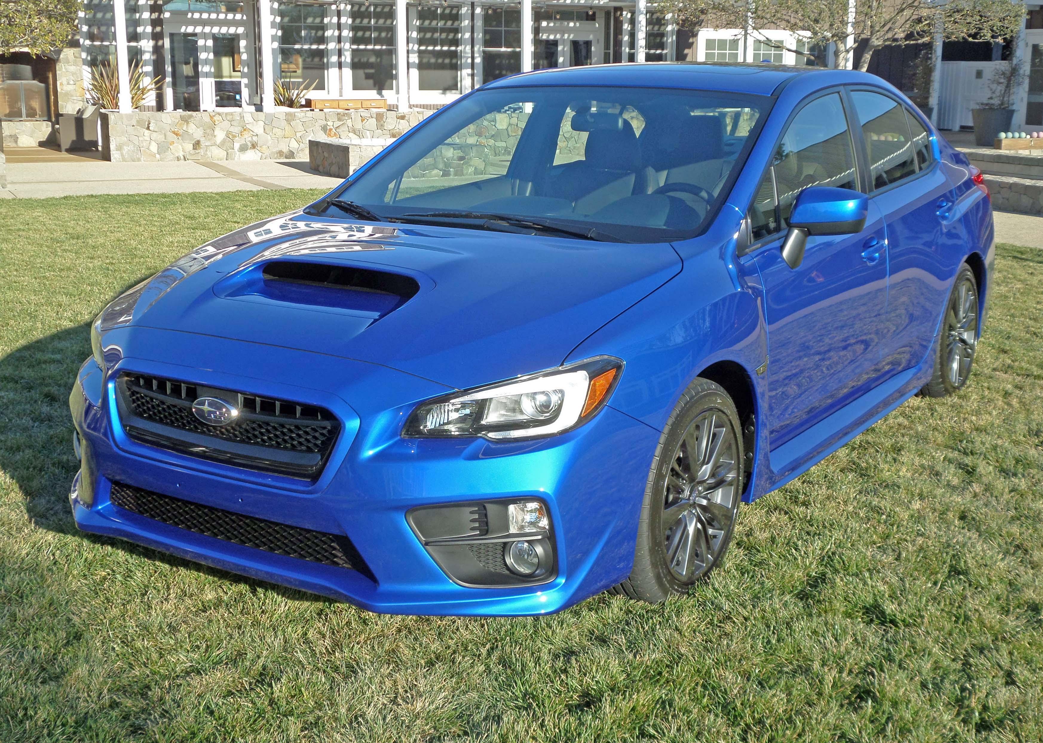 2015 Subaru WRX Premium Test Drive