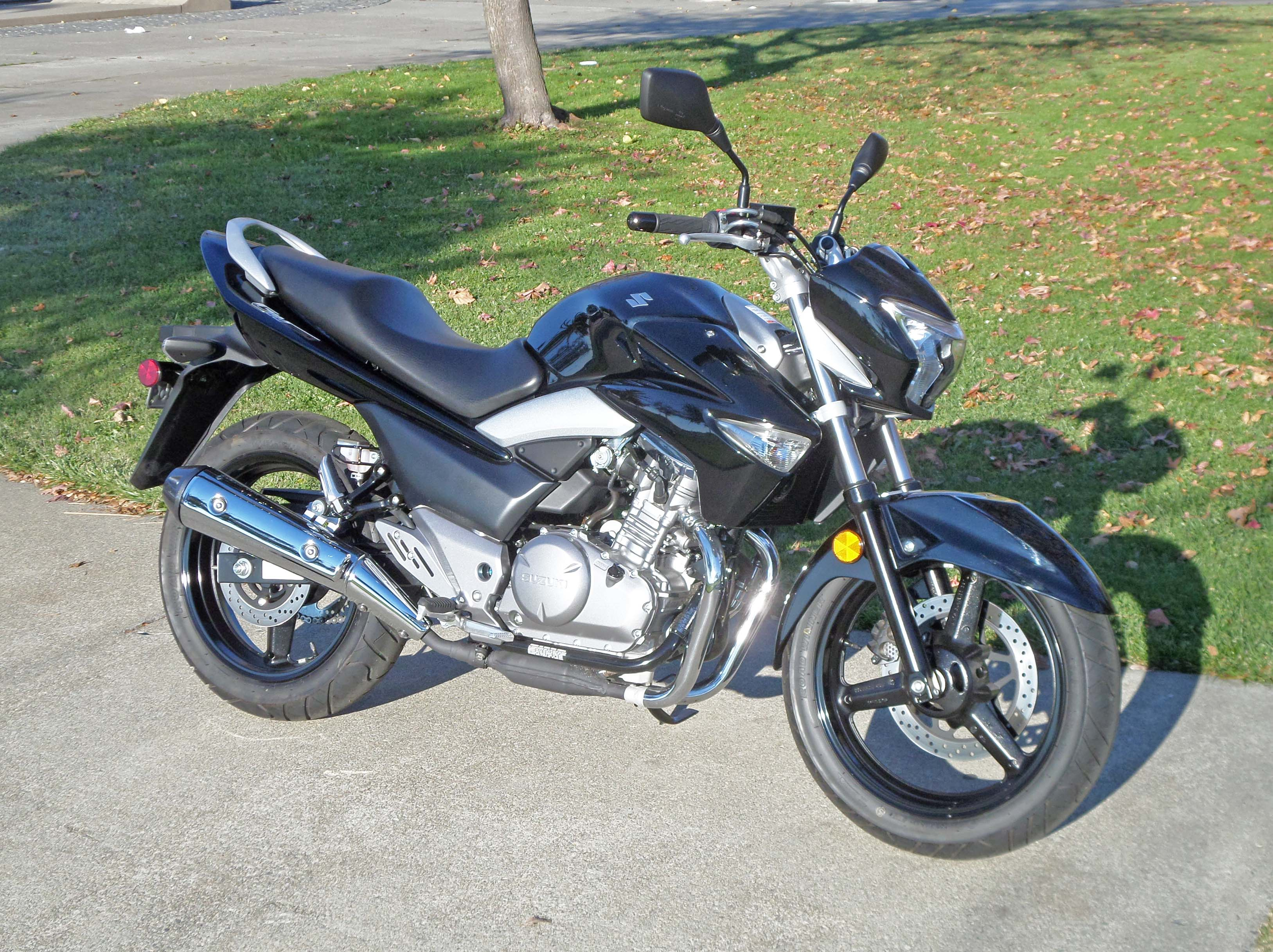 2013 Suzuki GW250 Test Ride