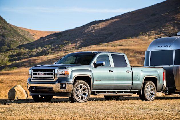 20114 GMC Sierra w-trailer