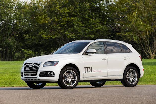 2014 Audi Q5 TDI Fside