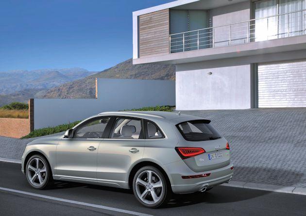 2014 Audi Q5 TDI rearQ