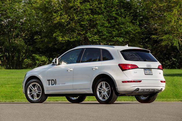 2014 Audi Q5 TDI rearS