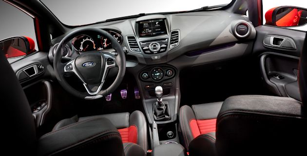 2014 Ford Fiesta ST interior